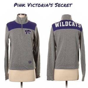🆕Pink Victoria's Secret wildcats sweater jacket